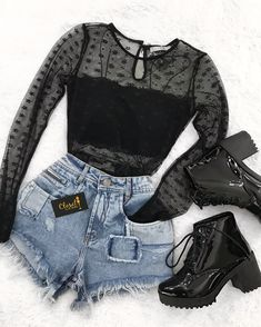 Perfect for a rock concert Inspiring Ladies Outfits - fashion Source by outfits moda Cute Casual Outfits, Edgy Outfits, Swag Outfits, Mode Outfits, Grunge Outfits, Fall Outfits, Ladies Outfits, Black Outfits, Simple Outfits