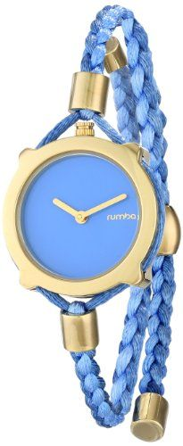 Women's Wrist Watches - RumbaTime Womens Gramercy Placid Blue Analog Display Japanese Quartz Blue Watch >>> You can get more details by clicking on the image. (This is an Amazon affiliate link)
