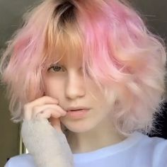 Hair Inspo, Hair Inspiration, Pretty People, Beautiful People, Teen Haircuts, Dope Hairstyles, Hairstyle Ideas, Undercut Pixie, Haircut And Color