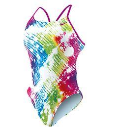 Nike Women's Tie Dye Cut Out Tank at SwimOutlet.com $62