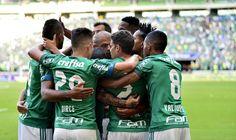 Borja é cercado no gol que encerrou o jejum - Palmeiras 4 x 0 Vasco