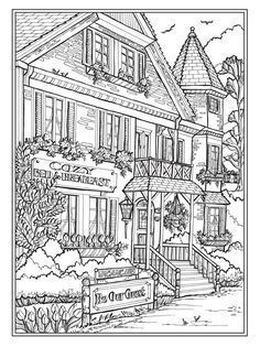 House Colouring Pages, Coloring Book Pages, Kids Activity Books, Book Activities, Digital Drawing, Sweet Home, Coloring Pages For Kids, Kids Colouring, Graphic Design Services