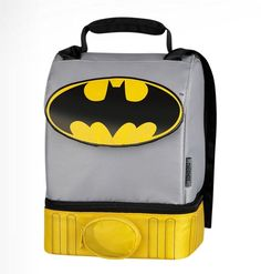 Best Lunch Box Ever | Best Batman Lunch Box ever. It has a cape!! via 25…