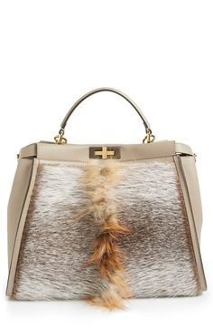 Fendi 'Peekaboo' Genuine Fox Fur Satchel available at Nordstrom Item #834221 $5,300.00