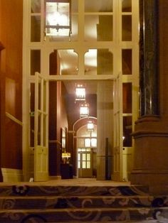 Interior of the Former Midland Grand Hotel, by Sir George Gilbert Scott. Arches: A Gallery Victorian Door, Grand Hotel, Door Design, Arches, Architecture, Gallery, Interior, Inspiration, Arquitetura