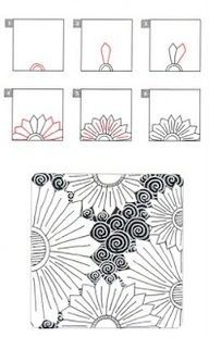 zentangle patterns tutorial - this is your kinda art! Zentangles
