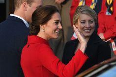 Kate Middleton también confía en Carolina Herrera en sus viajes oficiales by Trendencias #Other