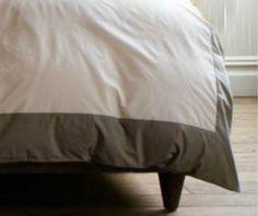 New to CustomLinensHandmade on Etsy: Border Duvet Cover linen duvet cover linen bedding dorm bedding queen bedding king bedding white duvet cover with border trim (189.00 USD)