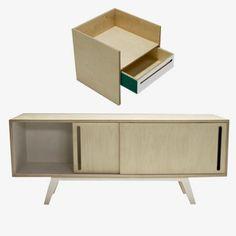 Sideboard L + Modul 3 von Branka Blasius Bureau | MONOQI