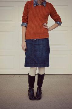 Bramblewood Fashion ❘ What I Wore - Preppy