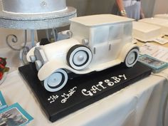 Gatsby cake from the Grove Pastry Shop!