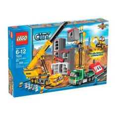 """LEGO City Construction Site 7633  Need this for areas """"under construction"""""""