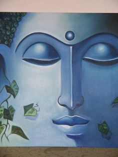 buddha 1 - Painting by Mallika Batra at touchtalent 6211