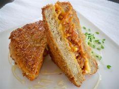 Na Cozinha da Margô: Sanduíche Crocante de Pão de Forma