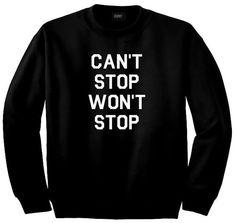 Kings of NY Cant Stop Wont Stop Crewneck Sweatshirt by KINGSOFNY