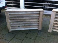 Radiator-ombouw van steigerhout (in elk gewenste maat leverbaar)