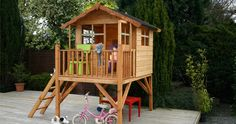 The Pros and Cons of Wooden Playhouses