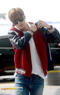 Lee Min Ho   Incheon Airport 150408