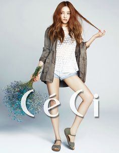 KARA Hara for CeCi May 2015