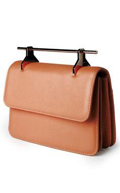 La Fleur Du Mal Leather Clutch by M2malletier Now Available on Moda Operandi