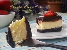 Aunty Young(安迪漾): 巧克力乳酪蛋糕 (Chocolate Cheese Cake) ;http://auntyyoung.blogspot.my/2014/11/chocolate-cheese-cake.html