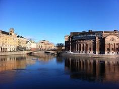 Il parlamento di Stoccolma #insvezia #stoccolma #stockholm