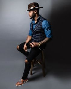 Black Men Casual Style, Gq Mens Style, Style For Men, Men's Style, Stylish Mens Outfits, Stylish Clothes For Men, Fashion Clothes For Men, Most Stylish Men, Men Clothes