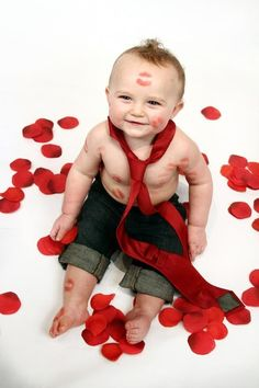 valentine's sibling photo shoot ideas | Happy Valentines day, 1 year photo shoot | Ideas for Beckham's 1st bi ...