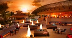 Fab Destination Wedding Resort in Punta Cana: Paradisus Punta Cana. What a fun spot to chill!