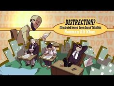 Distractions | Lesson from Surah Takathur | illustrated - YouTube