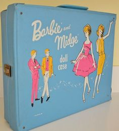 Vintage 1963 Barbie & Midge Double Doll Case | Flickr - Photo Sharing!