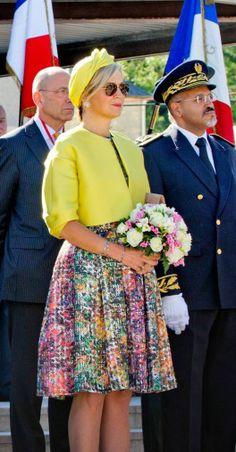 Queen Maxima of The Netherlands June 6, 2014