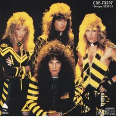 Stryper is one of my favorite rock band. I grew up listening to all their music and their message. Stryper was not like other rock bands. Christian Metal, Christian Music, 80s Rock Bands, Cool Bands, 80s Music, Rock Music, Big Hair Bands, 80s Hair Metal, 1980s Hair