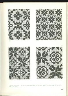 Fair Isle Knitting Patterns, Knitting Charts, Weaving Patterns, Knitting Stitches, Cross Stitching, Cross Stitch Embroidery, Embroidery Patterns, Crochet Patterns, Cross Stitch Charts