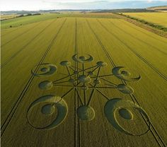 Huge 'Overnight' Crop Circle Formation