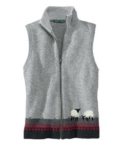 Women's Grazing Sheep Vest.  Woolrich.  $79.00.