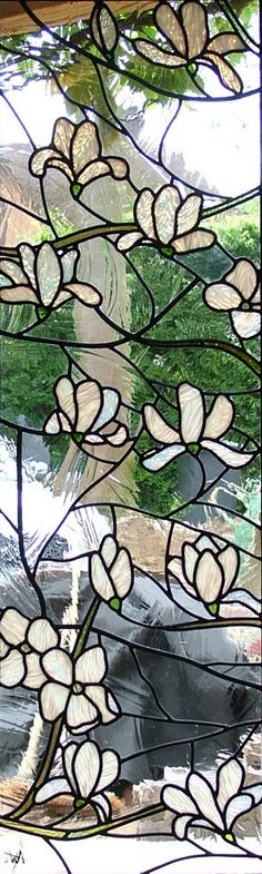 Beautiful glass panel from Abinger Stained Glass, near Dorking, UK