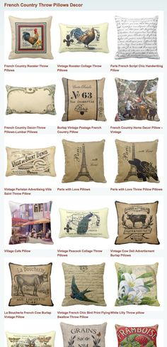 10 Gifted Clever Tips: Decorative Pillows Patterns Sofas decorative pillows floral vintage fabrics.Decorative Pillows With Sayings Beds decorative pillows floral vintage fabrics.Decorative Pillows On Bed Earth. Country Throw Pillows, French Country House, French Country Decorating, Country Decor, Country Bedroom, Country Throws, Country House Decor, Country Pillows, French Country Kitchens