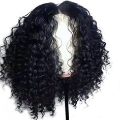 Short Curly Full Density Lace Front Wigs Full Lace Human Hair Wigs for Black Women Glueless Bob Brazilian Hair Wigs with Baby Hair Side Part - March 02 2019 at Black Hair Wigs, Black Wig, Human Hair Lace Wigs, Curly Wigs, Curly Bob, Black Hairstyles With Weave, Weave Hairstyles, Trendy Hairstyles, Teenage Hairstyles