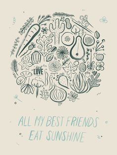 Poster by Melanie Richards - The Just Love Project | September