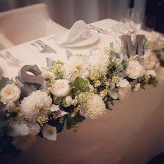 my wedding day♡…披露宴会場 の画像|*happy happy story*