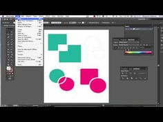 The Shape Builder and Pathfinder in Illustrator CS6 - YouTube