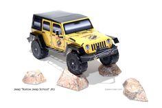 Barlow Jeep School | papercruiser.com