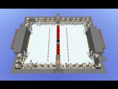 Minecraft Air Hockey. Click on it to watch the video!