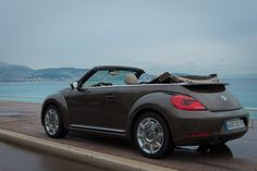 2013 VW Beetle Cabriolet 70′s toffeebraun