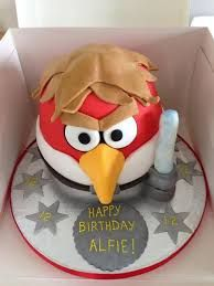 starwars angry birds cake - Google Search