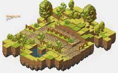 Resultado de imagem para desenho isometrico gamedesign