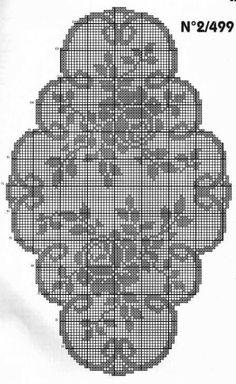 Kira scheme crochet: Scheme crochet no. 2105: