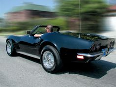 1972 CORVETTE CONVERTIBLE-SAIF'S DREAM CAR #2
