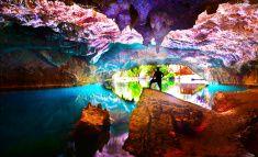 cave&cavern stock photo